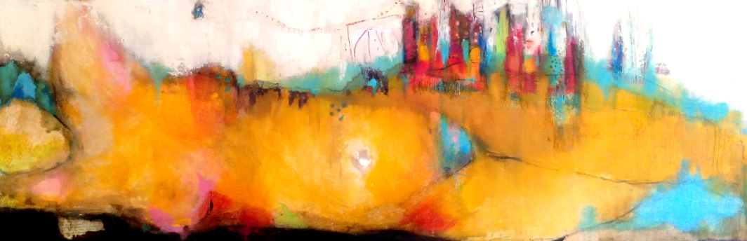The View III, 120cm x 40cm