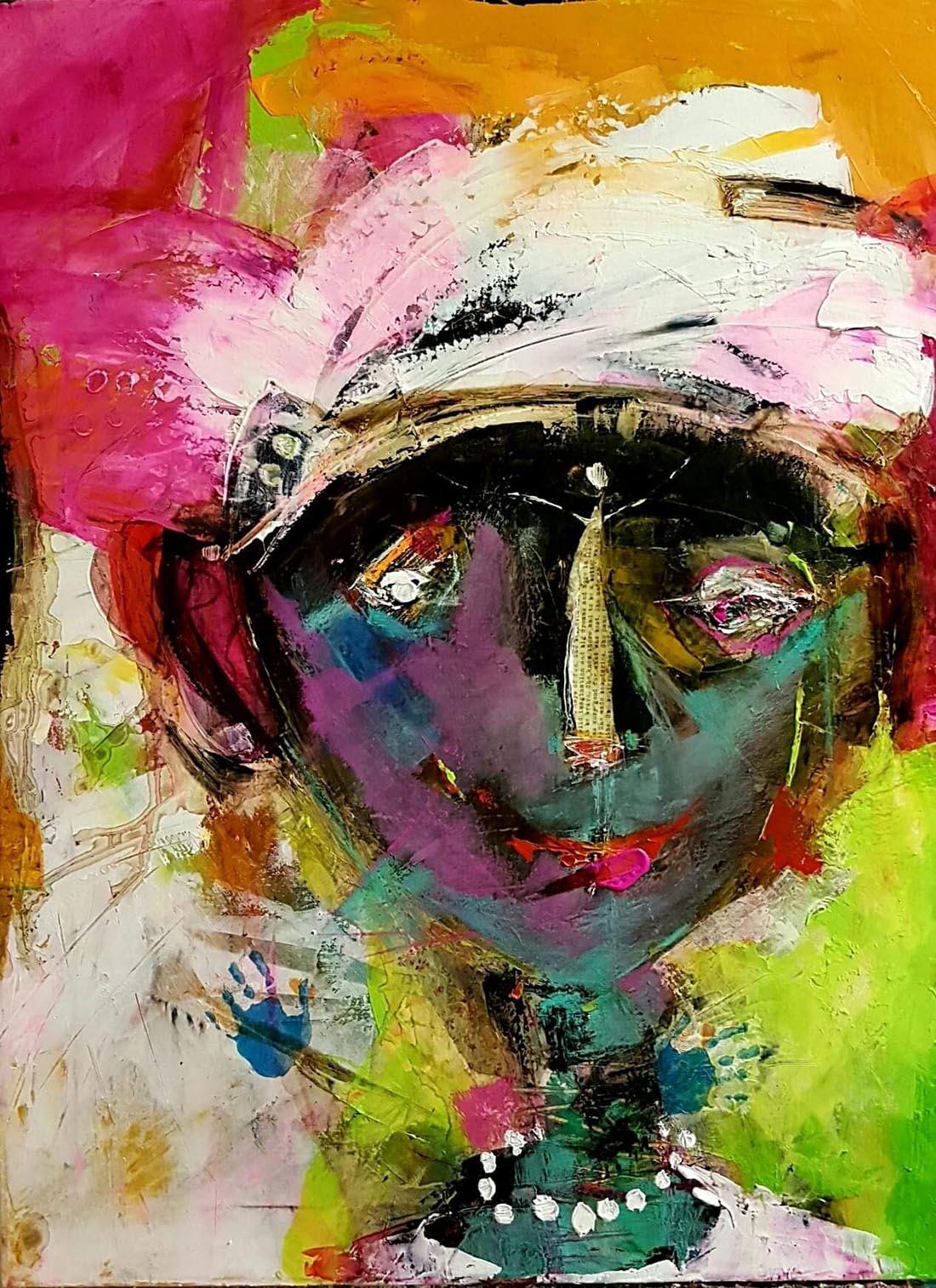 Portrait, 80x50cm